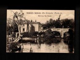 F107) Portugal Torres Novas Santarém Rio Almonda Ponte Do Moinho Da Cova Ed. Justino H. D'Oliveira - Santarem