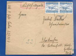 Enveloppe   LUFTFELDPOST     Oblitération: Muette 22/6/1944  Ave Cachet N° Code Postale 32986 C - Allemagne