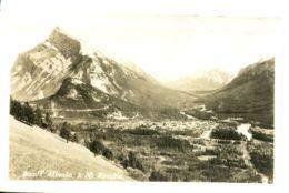 N°3274 R -carte Photo Banff Alberta Mt Rundle- - Andere