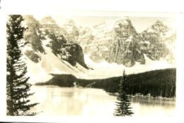N°3275 R -carte Photo Banff Alberta -Moraine Lakie- - Andere