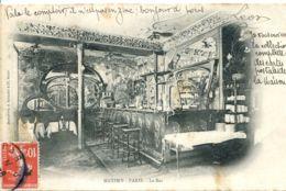 N°3277 R -cpa Maxim's Paris -le Bar - Hotels & Restaurants