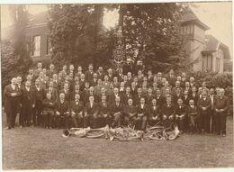 Photo 218 Mm X 157 Mm - 1923 - Harmonie Royale De Péruwelz Belgique - Musique Musicien  - Scan R/V - Places
