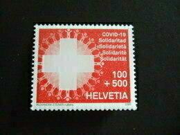 SWITZERLAND  2020.  COVID 19. CORONA. STAMP MNH **  (V35-475) - Ungebraucht