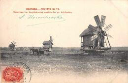 CPA   RUSSIE POLTAVA Les Moulins  Du Pr Kotchoubey - Russland