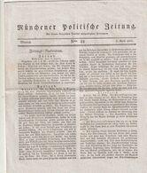 Muenchener Politische Zeitung / 1827 / 8 Seiten (A196-30) - Bavaria