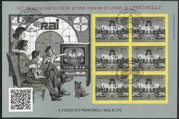 2017 Italia, Minifoglio Carosello Con Annullo Ufficiale - 6. 1946-.. Republic
