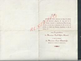 ANCIEN PROGRAMME DE Melle JANIN DIRECTRICE DU COURS DE JEUNES FILLES PARIS Xe AUDITION COURS DE PIANO : - Programme