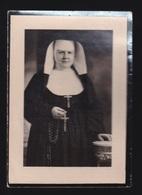 MOEDER MARIA RACHEL / ZULMA VAN WASSENHOVE - MEIGEM 1881 - TIELT 1950  2 SCANS - Engagement