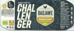 étiquette Décollée Challenger Brasserie Coopérative Liégeoise Liège - Beer