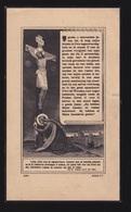 EERW.P.RAES JAN Bta ERNEST - GENT 1894  BENGALEN 1933   2 SCANS - Engagement