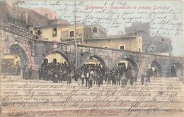 CPA ITALIE SULMONA  Acquedotto In  Piazza Garibaldi - Sonstige