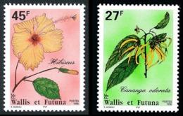 WALLIS ET FUTUNA 1996 - Yv. 489 Et 490 **   Faciale= 0,60 EUR - Fleurs Locales (2 Val.)  ..Réf.W&F22794 - Neufs