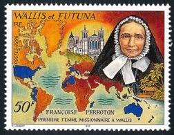 WALLIS ET FUTUNA 1996 - Yv. 495 **   Faciale= 0,42 EUR - Françoise Perroton, Missionnaire  ..Réf.W&F22798 - Neufs