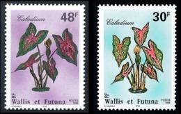 WALLIS ET FUTUNA 1996 - Yv. 493 Et 494 **   Faciale= 0,65 EUR - Flore Locale. Le Caladium (2 Val.)  ..Réf.W&F22797 - Neufs