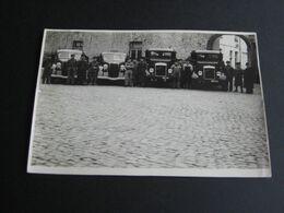 MECHELEN - Berthoudersplein Kazerne Brandweer Pompiers - Oude ZW/W Foto (12cm X 18cm) - Mechelen