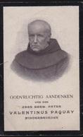 PATER VALENTINUS PAQUAY  - TONGEREN  1828    HASSELT 1905  -   2 SCANS - Engagement