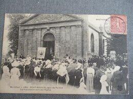Port Navalo  La Procession Sort De L église - France