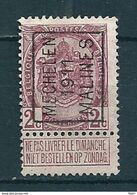 1718 Voorafstempeling Op Nr 82 - MECHELEN 1911 MALINES -  Positie A - Precancels