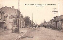 55 - CPA VERDUN La Route D'Etain - Verdun