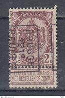 1779 Voorafstempeling Op Nr 55 - BRUGGE 1912 BRUGES -  Positie B - Precancels