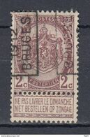 1779 Voorafstempeling Op Nr 55 - BRUGGE 1912 BRUGES -  Positie A - Precancels