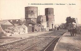 55 - CPA DOMBASLE EN ARGONNE La Gare - Sonstige Gemeinden