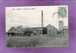 60  BARON Fabrique De Sucre  Carte Rare - Frankreich