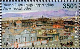 Armenia - 2020 - Europa CEPT - Ancient Postal Routes - Mint Stamp - Armenien