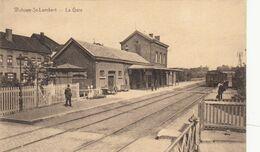 WOLUWE-ST-LAMBERT, La Gare, TRAIN - Woluwe-St-Lambert - St-Lambrechts-Woluwe