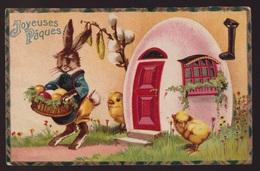 JOYEUSES PAQUES   HAAS EN KUIKENS - Easter