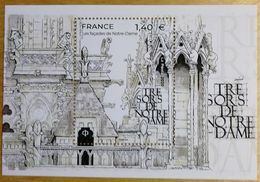 "FRANCE 2020 BLOC FEUILLET ""TRESORS DE NOTRE DAME"" - NEUF - Unused Stamps"