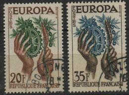 FR 1532 - FRANCE N° 1122/23 Obl. EUROPA - Gebruikt