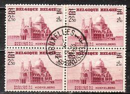 483  Koekelberg - Bonne Valeur - Bloc De 4 - Oblit. Centrale BRUXELLES 1 - LOOK!!!! - Used Stamps