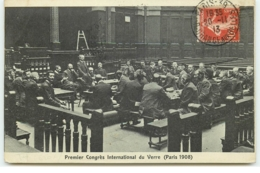 PARIS X - Bourse Du Travail - Premier Congrès International Du Verre (Paris 1908) - District 10