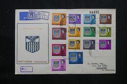 RHODÉSIE DU NORD - Enveloppe FDC En Recommandé En 1963 Pour Salisbury  - L 70802 - Nordrhodesien (...-1963)