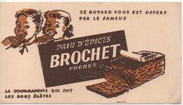 Buvard Publicitaire Ancien /Pain D'Epice/ BROCHET Fréres/vers 1950-60  BUV514 - Pain D'épices