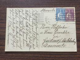 FL3899 Portugal 192 AK Von Lissabon Nach Güstrow - 1910-... Republiek