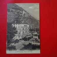 MARTIGNY GRAND HOTEL CLER CACHET INTERNEMENT DES PRISONNIERS DE GUERRE MARTIGNY - VS Valais