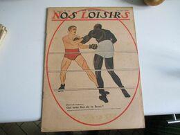 1914  Nos Loisirs 1914 Illustrateur  Qui Sera Roi De La Boxe  Johnson Moran Publicite Velo Cycle Sagitta - Libri, Riviste, Fumetti