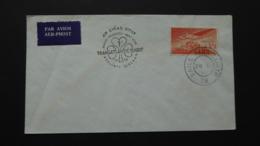 IRELAND SG 143a POSTMARK FIRST TRANSATLANTIC FLIGHT DUBLIN-SHANNON-NEW YORK  BAILE ATHA CLIATH / NEW YORK 1958 - Sin Clasificación