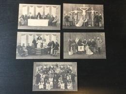 5 Cartes Postales Neuves De Ligny (théâtre De La Passion En 1926) - Sombreffe