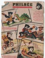 Buvard Publicitaire Ancien/Pain D'Epices/PHILBEE/Le Bon Pain D'Epices De DIJON/Le Petit Ours Philbée/vers 1950-60 BUV519 - Pain D'épices