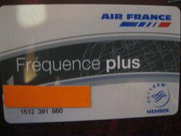 Carte De Credit Point Miles Air France Frequence - Cartes De Crédit (expiration Min. 10 Ans)