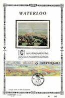 Feuillet Tirage Limité 400 Exemplaires 2376 Waterloo Soignies Napoléon - Velletjes
