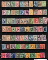 FINLAND 1911-30 70 Stamps M+U #BMK02 - Collections