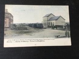 Ancienne CP De Bourcy : Vicinal De Houffalize En 1905 - Houffalize