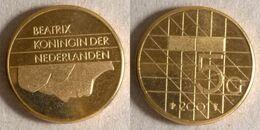 Netherlands - 5 Gulden 2001 (nl031) - [ 3] 1815-… : Royaume Des Pays-Bas