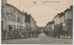DEPT 16 : Edit. L Lebon : Jarnac Rue De Condé - Jarnac