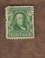 USA/ETATS-UNIS. (Y&T) 1902-03 - N°144.  * Série Courante*   1c.  Obli - Vereinigte Staaten