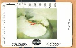 Colombia - CO-MT-55, Tamura, Melus, Teye, Art, 5,500 $, 10.000ex, Used - Kolumbien